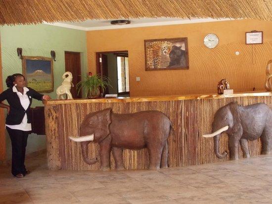 Sentrim Amboseli: La réception