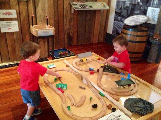 Pensacola Children's Museum: Trains!