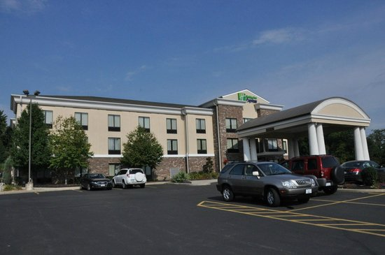 Holiday Inn Express Sharon/Hermitage: Front view