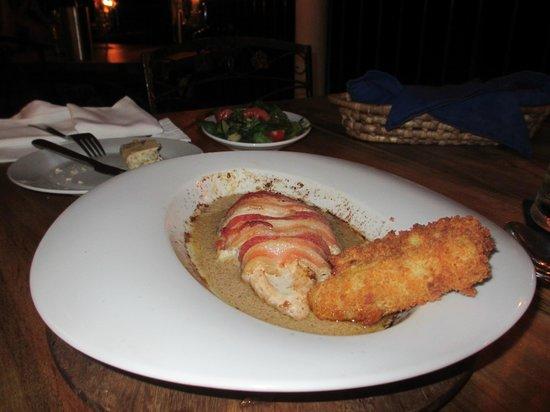 Hotel Mocking Bird Hill: Abendessen