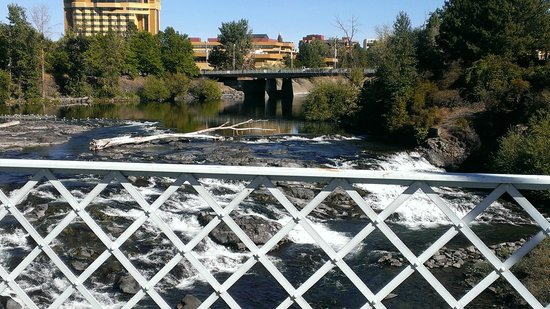 "Relish! Spokane Food and Wine Tours : Is calling this shot, ""A River Runs Through It"" a bit corny?  LOL!"