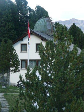 Berghotel Randolins: Observatorium Auf dem Gelände