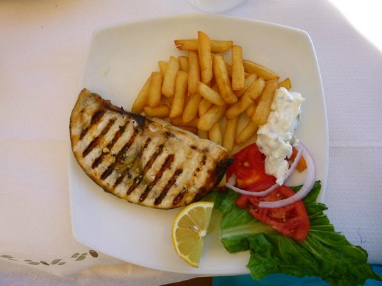 Apollon Restaurant: Filet d'espadon