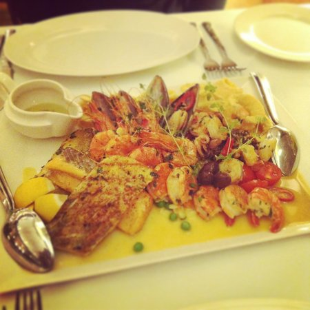 Akropol na Solnym : Seafood plater