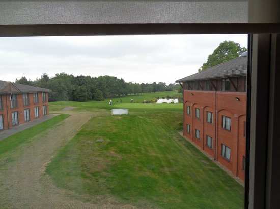 De Vere Staverton Estate: Golf course view from room