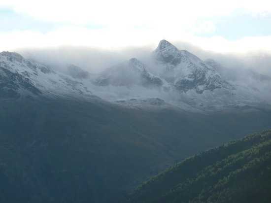 Berghotel Randolins: Ausblick in die Berge