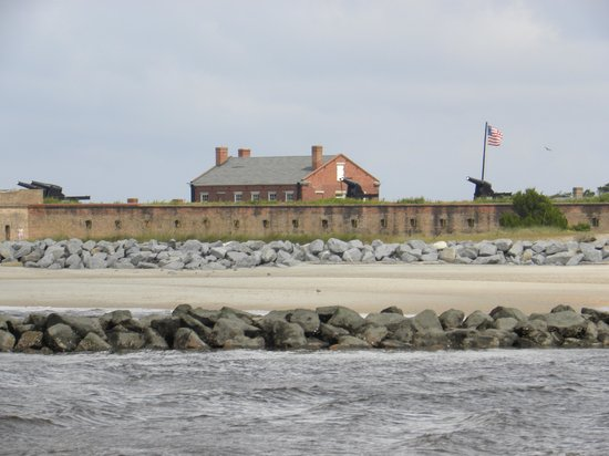 The Addison on Amelia Island: Fort Clinch from SAmelia Cruise