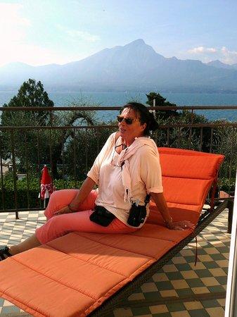 Hotel delle Rose: Unser Zimmer mit Terrasse bot einen traumhaften Blick