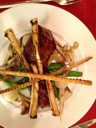 Meritage Restaurant + Wine Bar: Lamb Chops