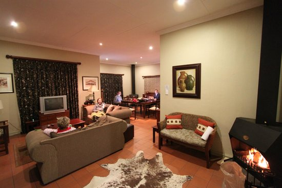 The Village Guest House: Common Area in the Manor House