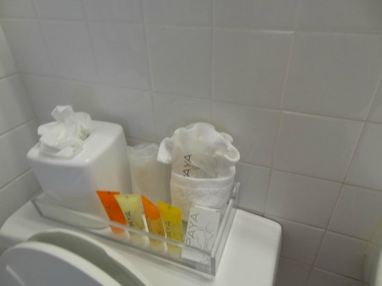 South Seas Hotel: baño