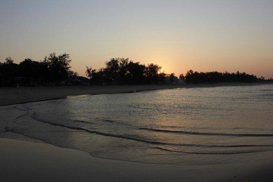 Baia Sonambula Guest House : sunset