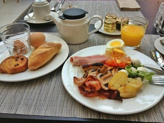 Hotel N'vY: excellent breakfast