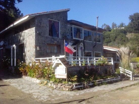 Curanipe, Chile: hotel casa de piedra en Pelluhue