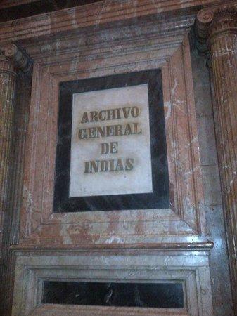 Archivo General de Indias : archivio delle Indie