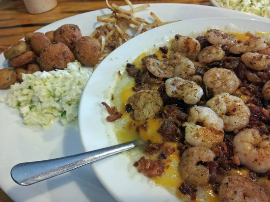 Snookie's Fish Camp: Shrimp and grits are a top seller
