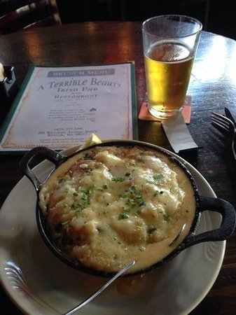 A Terrible Beauty: fishermans pie and an angry orchard cider