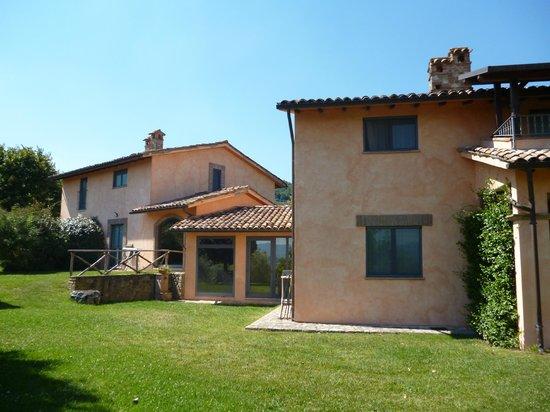 La Torriola: die beiden Häuser in denen sich die Appartements befinden