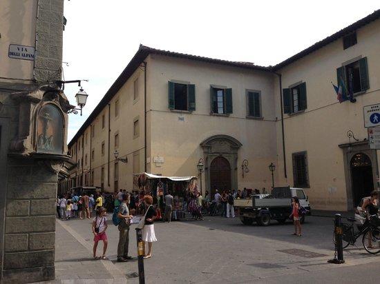 Accademia di Belle Arti: Accademia exterior, Florence, Italy
