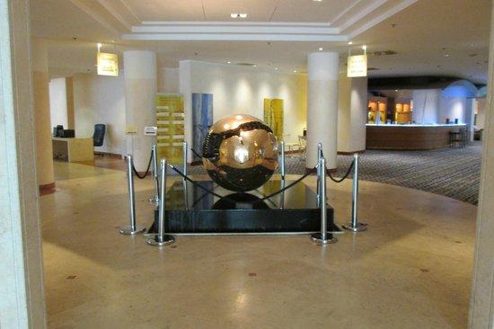 Near Elevators Picture Of Hilton Rome Airport Hotel