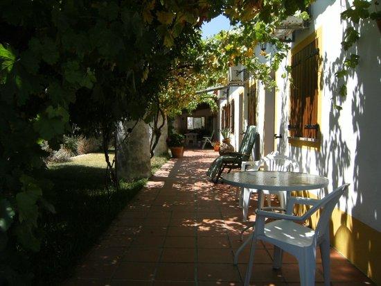 Quinta Paraiso: het achterste terras was van ons