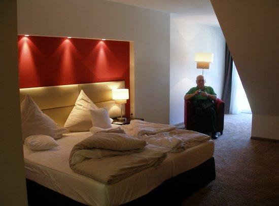 Lindner Hotel Schloss Reichmannsdorf: Our room