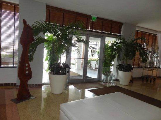 South Seas Hotel: pasillo