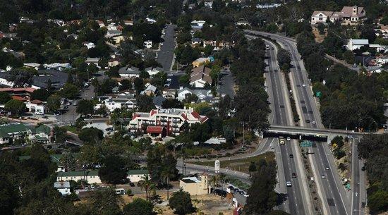 La Cuesta Inn and the 101 Freeway