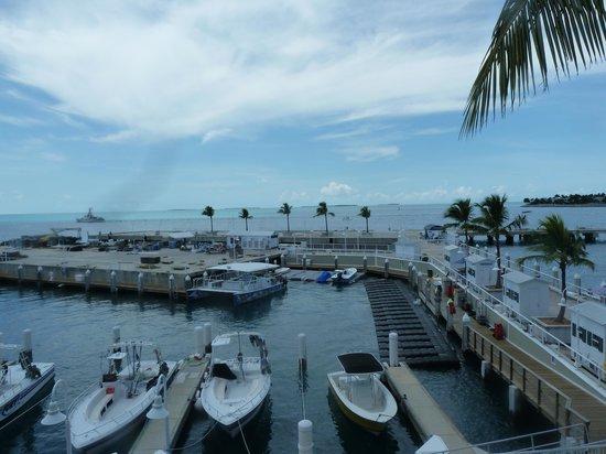 Hyatt Sunset Harbor Resort: Gulf View