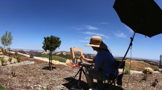 La Cuesta Inn: San Luis Obispo Art in the works