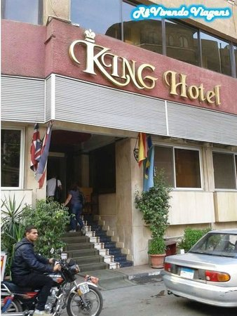 King Hotel: Fachada do hotel