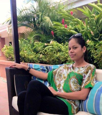 Farallones Hotel: yo esperando comer