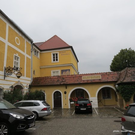 Hotel Richard Löwenherz: the entrence to the hotel