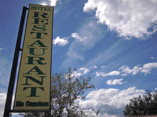 Els Cacadors de Macanet : Hotel y alrededores