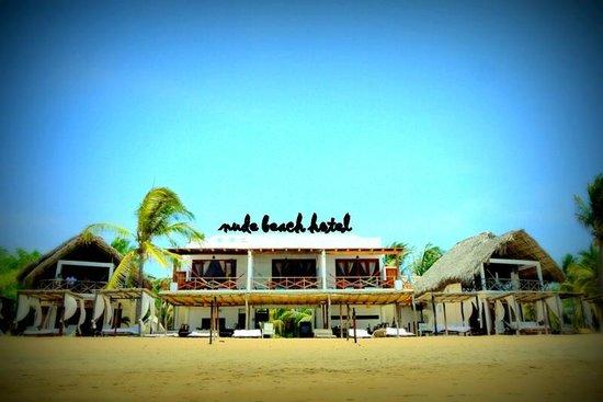 Hotel Nude Zipolite: Panoramica del hotel