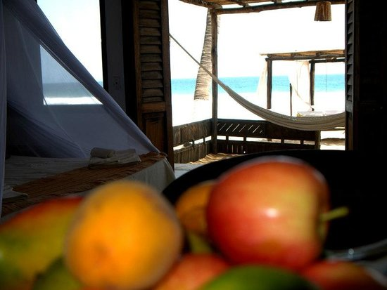 Hotel Nude Zipolite: Vista del mar desde h