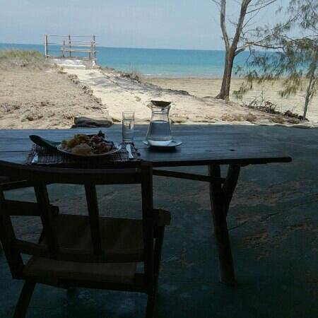 Chumbe Island Coral Park: Lunch with a view <3