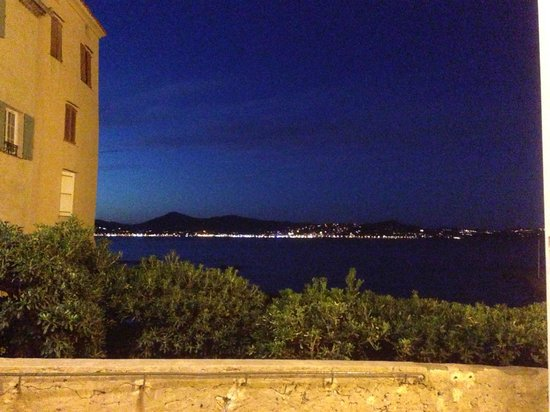 Hotel La Ponche: View from our table at dinner