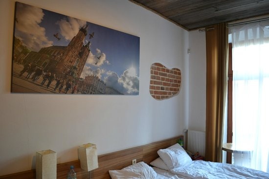 Aparthotel Pergamin Hotel: Small but clean
