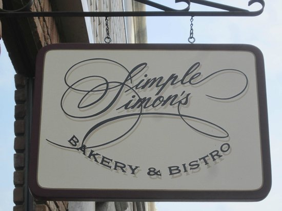 Simple Simon's: See the sign = Enjoy the food .. ..