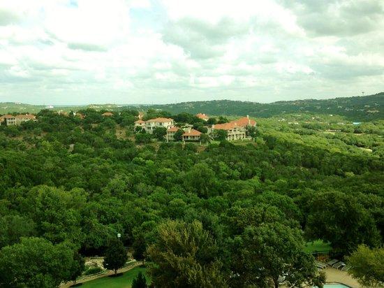 Omni Barton Creek Resort & Spa: From my balcony