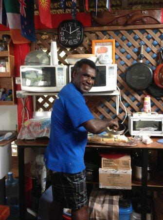 Traveller's Budget Motel: John - our Chef