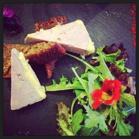 Les Enfants Gat'Thes: foie gras et pain d'épice