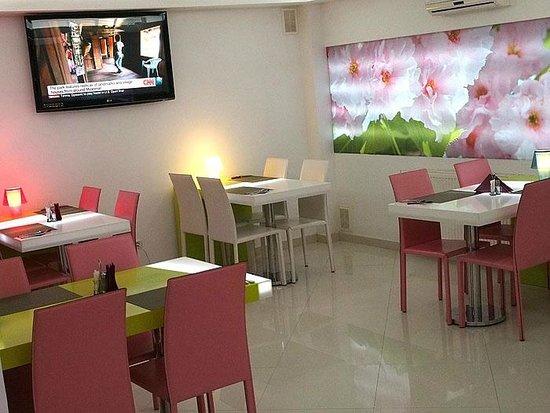 Hotel Christina : Restaurante. Sala de desayuno