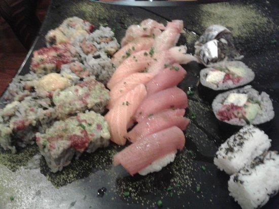 Kaiseki Sushi : Plateau de sushis et makis du Kaiseki