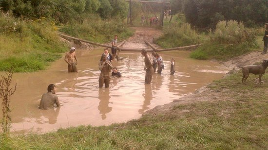 Frodsham, UK: Mud bath. Yes, really.