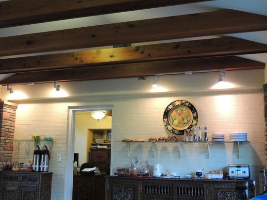 Casa Blanca Inn & Suites : Breakfast area