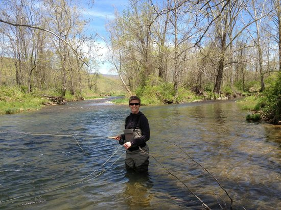 Hidden Valley Bed and Breakfast: Fly Fishing Bliss