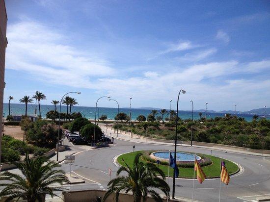Hotel Sant Jordi: Vu de la chambre