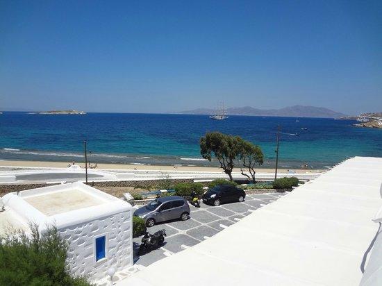 Hotel Mykonos Beach: Vista